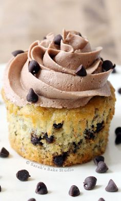 Sarah's Banana Chocolate Chip Cupcakes