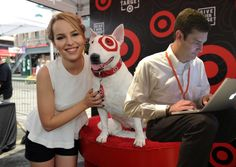 Working with Bullseye at a charity event.