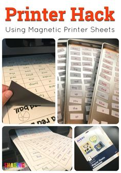 Printer Hack - teacher tips