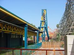 V2: Vertical Velocity at Six Flags Discovery Kingdom in Vallejo, California