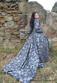 The Costume Mercenary: The Gothic Coat in a Ruined Chapel
