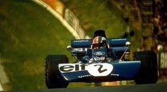 #2 Francois Cevert (Fra) - Tyrrell 002 (Ford Cosworth V8) accident (12) Elf Team Tyrrell