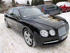 Oklejanie samochodów osobowych Bentley