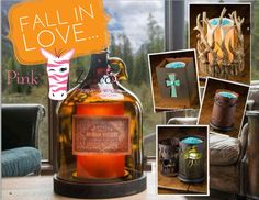 Fall in love with Pink Zebra!! NEW Rustic Lodge line!