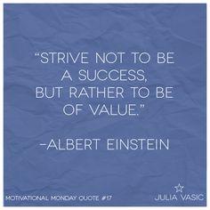 Motivational Monday #motivation #quote #alberteinstein