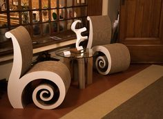Villa le Rondini in occasione di Artour-o Il Must. Evento internazionale di Arte Contemporanea e Design, edizione Firenze 2016.   #cartonfactory #cardboard #design #ecodesign