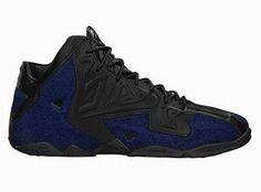 half off fd555 0fa43 THE SNEAKER ADDICT  Nike Lebron 11 Denim EXT  amp  Christmas Sneaker Resto.