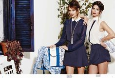 Greek islands collection DOCA SUMMER OUTFIT BLUE WHITE