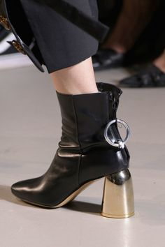 ff608bcdf19 Ellery at Paris Fashion Week Spring 2017. Shoe ...