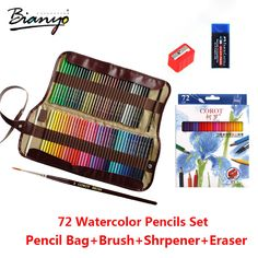 COROT 72Colors Safe Non toxic Indonesia Lead Water Soluble Colored Pencil…