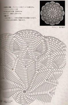 Kira scheme crochet: Scheme crochet no. 67 Kira scheme crochet: Scheme crochet no. 67 Learn the basi Motif Mandala Crochet, Crochet Doily Diagram, Crochet Circles, Crochet Doily Patterns, Crochet Chart, Thread Crochet, Filet Crochet, Crochet Designs, Crochet Stitches