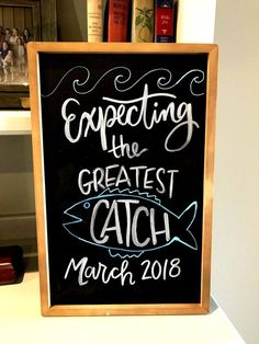 30 Ideas baby shower ides for boys fishing theme parties for 2019 Baby Shower Themes, Baby Shower Decorations, Baby Boy Shower, Shower Ideas, Adoption Baby Shower, Baby Shower Quotes, Babyshower, Chalkboard Baby, Boy Fishing