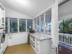 133 Bonney Avenue Clayfield - Albion Hotel, Library Bedroom, Large Open Plan Kitchens, New Farm, Upstairs Bedroom, Queenslander, Houses Of Parliament, Window Wall, Lounge Areas
