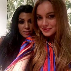 Lindsay Lohan And Kourtney Kardashian Reunite In London And Swap Clothes - http://oceanup.com/2016/06/09/lindsay-lohan-and-kourtney-kardashian-reunite-in-london-and-swap-clothes/