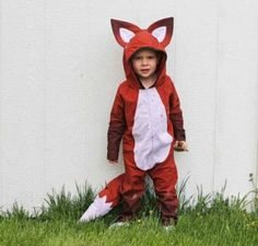 FOX!  Halloween costumes for kids, but is it wrong that I want this for myself??