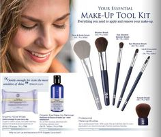 Neal's Yard Remedies make-up tool kit contains everything you need to apply and remove your make-up.