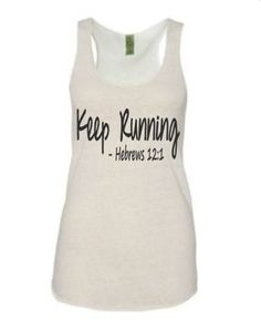 Running tank  tank for women's  running tanks by runningonthewall, $24.99