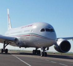 Reportage photos de l'arrivée à Casablanca du 1er Boeing 787 Dreamliner de la RAM