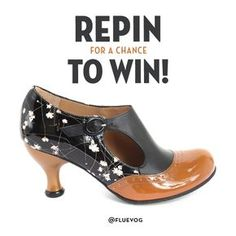 I <3 these shoes...  Repin this Ella Baker image for a chance to WIN a pair of Fall/Winter 2016 Ella Baker heels from John Fluevog Shoes! Please visit http://vo.gg/cf1Y303pzgF for full contest rules. Contest ends on September 26, 2016.