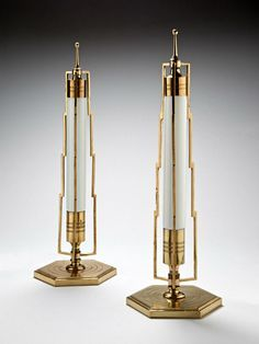 Art Deco lamps