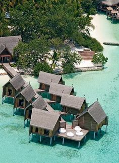 The all-inclusive Constance Moofushi Resort, Maldives