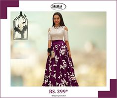 Celebrate this Republic Day by updating your wardrobe. Buy from Muta fashion at affordable prices. Republic Day, Silk Gown, Secondary Color, Shop Now, Gowns, Popular, Website, Purple, Celebrities