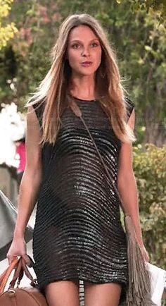 Phoebe's sheer beaded dress on Girlfriends Guide to Divorce.  Outfit Details: http://wornontv.net/43229/ #GG2D