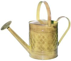 ROBERT ALLEN MPT01501 Wexley Metal Watering Can Chamomile Yellow >>> Check this awesome product by going to the link at the image.