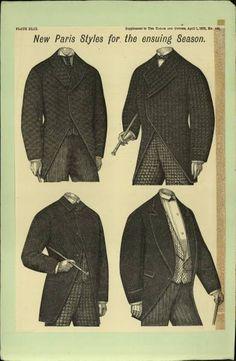 1875-1876 Men's Coats