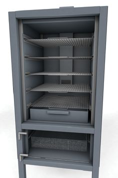 Vertical reverse flow insulated build - Advise and wisdom wanted! Gas Smoker, Bbq Pit Smoker, Barbecue Pit, Barbecue Design, Grill Design, Bago, Homemade Smoker Plans, Custom Bbq Smokers, Smoker Designs