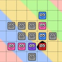 You should use the #mouse to drag and drop the shapes and #color the Colormons. This is an #entertaining, #brain picker and #addictive #puzzle #game. Colormons game has 24 #levels plus 6 bonus levels.