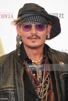 Johnny Depp attends the red carpet for the Classic Rock Awards at Ryogoku Kokugikan on November 11, 2016 in Tokyo, Japan.