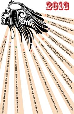 2013 Calendar Design // Miscellaneous Design Work // Spring 2012