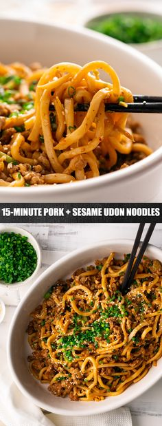 Marion's Kitchen is packed with simple and delicious Asian recipes and food ideas. Mince Recipes, Pork Recipes, Asian Recipes, Cooking Recipes, Healthy Recipes, Ethnic Recipes, Pork Noodles, Udon Noodles, Chinese Recipes