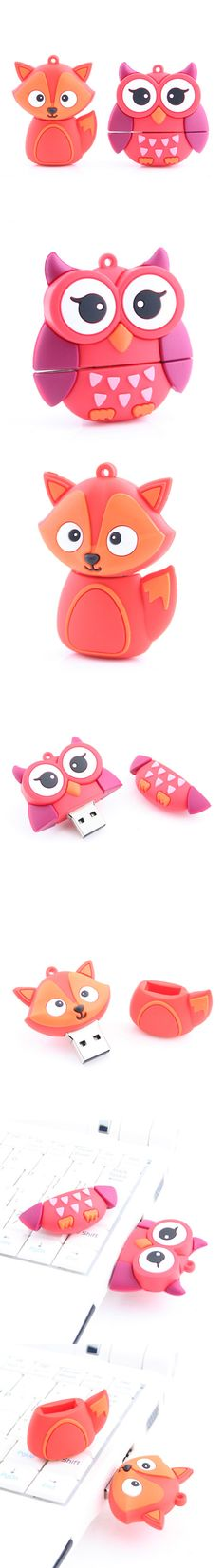 Owl & Fox USB Flash Drive http://www.usbgeek.com/products/owl-fox-usb-flash-drive