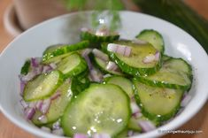 Mark Bitterman's Salt Block Cucumber Salad