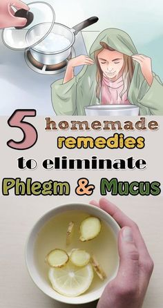 Here are 5 easy tricks to get rid of phlegm and mucus.