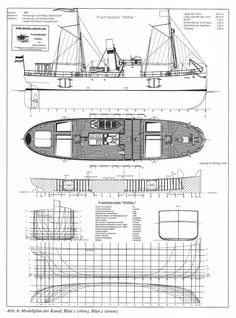 Free Model Ship Plans, Blueprints, Drawings and anything