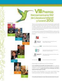 VIII Premio Iberoamericano SM de Literatura Infantil y Juvenil 2012