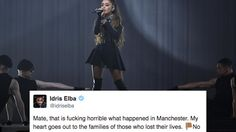 Idris Elba tweets passionate message to Manchester attack victims