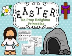 Are you looking for a fun and informational Christian Easter resource for your students? Then look no further! This packet contains useful and engaging worksheets and activities your students will love! Students will use and reinforce math and literacy skills while learning about our Lord Jesus Christ and his sacrifice for us.Included in this packet:-Easter sequencing story-Jesus Loves Us!