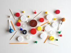 schaeresteipapier: DIY spinning tops - game boards