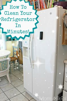 How To Get A Clean Refrigerator With No Chemicals