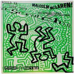 Vintage Original Keith Haring Vinyl Art Cover