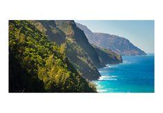 Fotomural Na Pali Coast, Kauai, Hawaii 61690 additionalImage 1 Kauai Hawaii, Dublin, Travel Photos, Microsoft, Travel Photography, Coast, Around The Worlds, Water, Outdoor