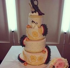 Awesome dbz wedding cake