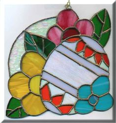 stained glass easter basket - Google Search