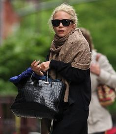 The Many Bags of The Olsen Twins, The Row Alligator Day Luxe Tote