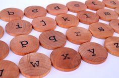 Montessori Alphabet - Educational Toy - Lowercase Letters