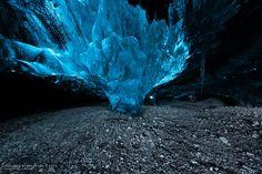 Ice Cave, Iceland ✯ ωнιмѕу ѕαη∂у